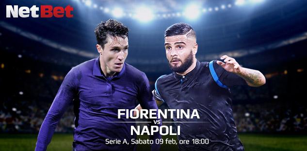 Serie A: Fiorentina vs Napoli. Quote e Pre-partita