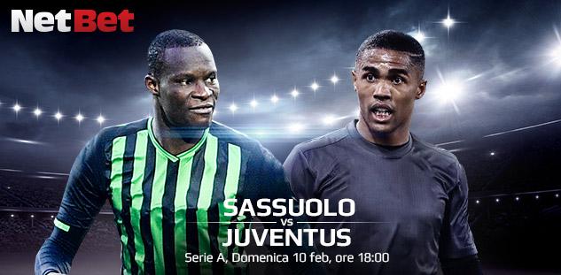 Serie A: Sassuolo vs Juventus. Quote e Pre-partita
