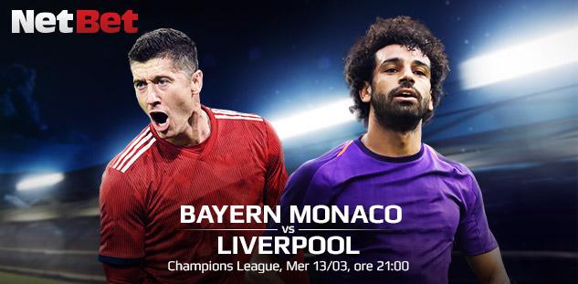 Champions League: Bayern Monaco vs Liverpool. Pronostici e Pre-partita