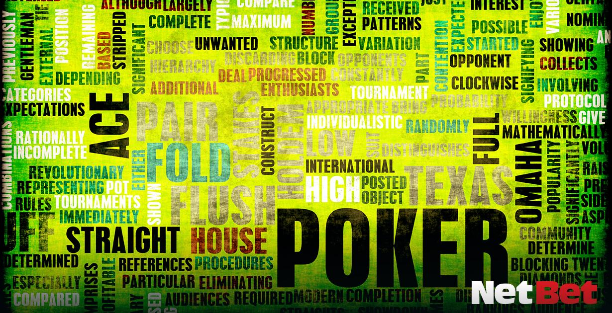 termini del gioco d'azzardo