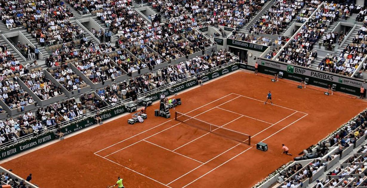 Roland Garros, campo da gioco