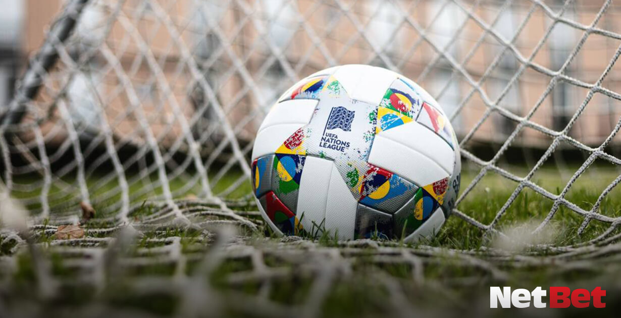 UEFA Nations League - Pallone in rete