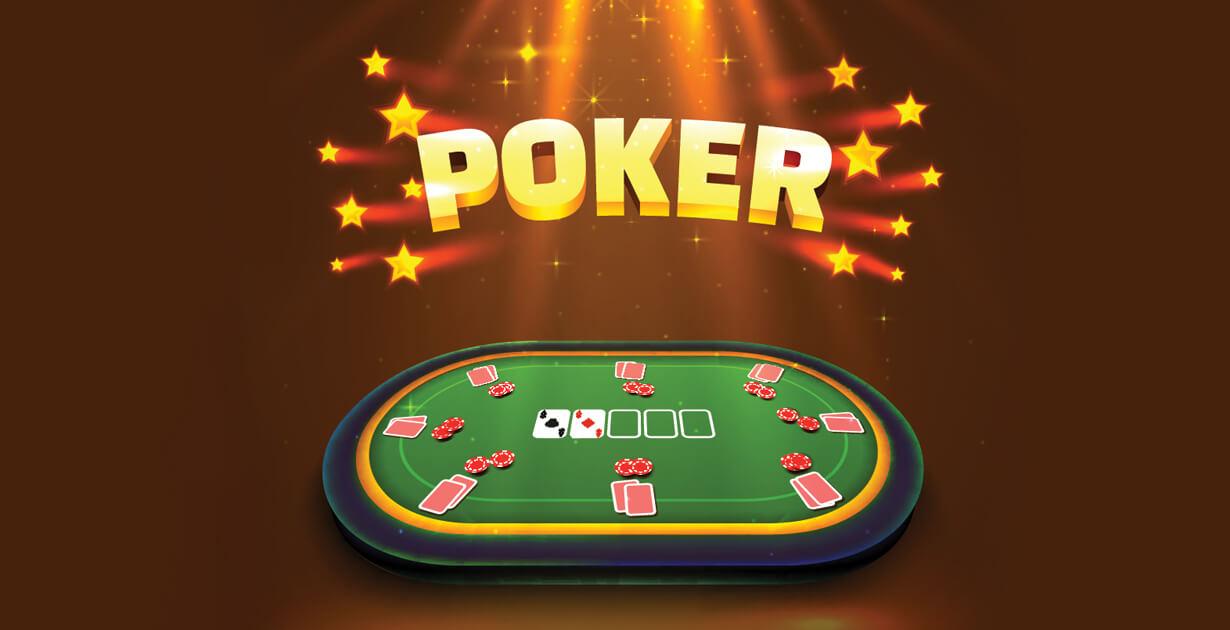 tavolo da poker illuminato